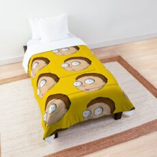 Rick and Morty   Gritty Morty Comforter