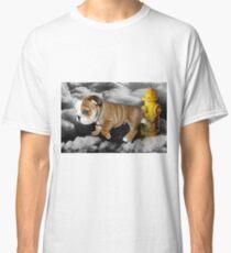 ☀ ツ UP IN THE CLOUDS WHAT DO I SEE A FIRE HYDRANT JUST WAITING FOR ME (SENDING EMAIL)CARD/PICTURE☀ ツ Classic T-Shirt