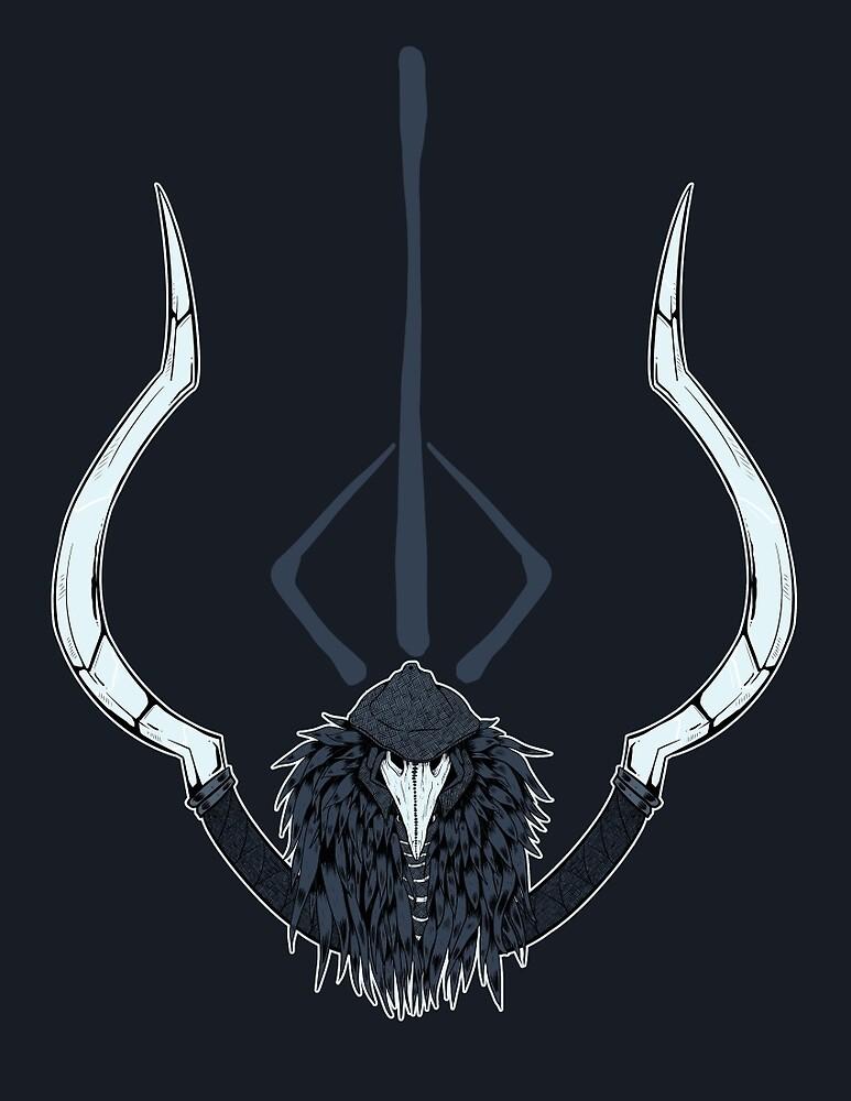 Crowfeather Hunter by dezfez