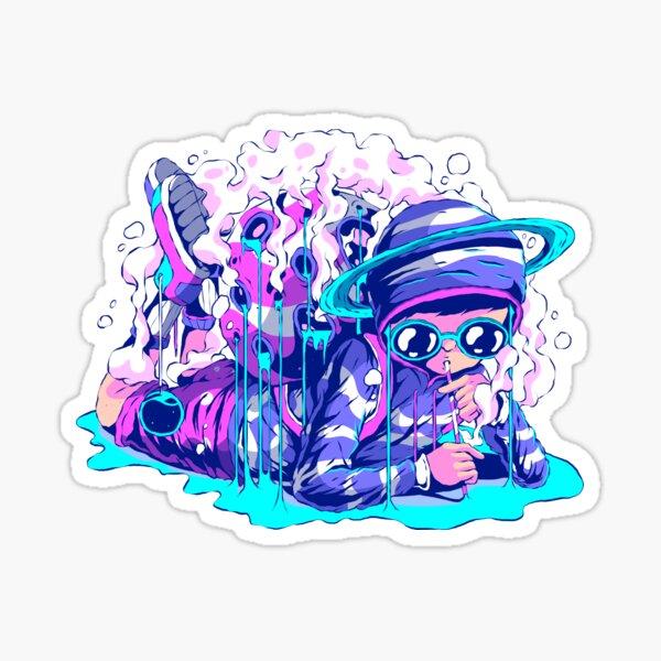 Space Juice - Boy Sticker