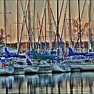 Boats At Big Daddy's by Scott Lebredo