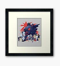 Samurai Wars: Empire Strikes Framed Print