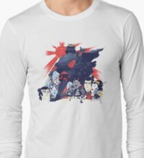 Samurai Wars: Empire Strikes Long Sleeve T-Shirt