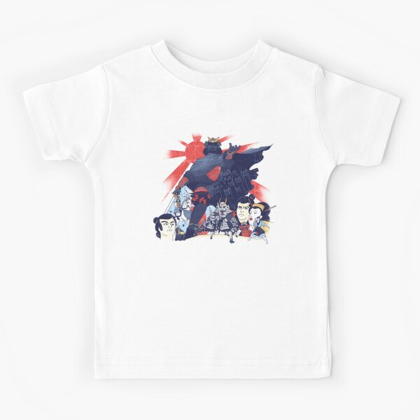 Samurai Wars: Empire Strikes Kids T-Shirt