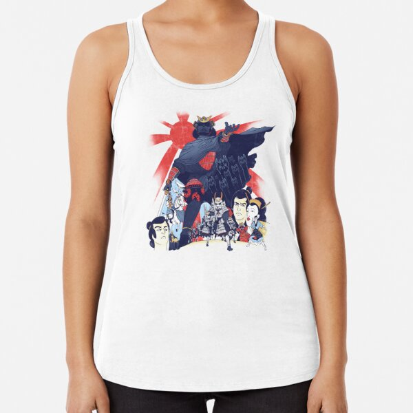 Samurai Wars: Empire Strikes Racerback Tank Top
