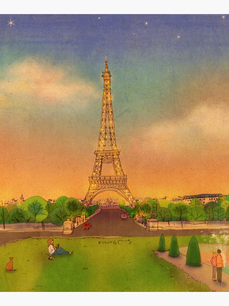 Eiffel Tower, Paris, France by puuung1