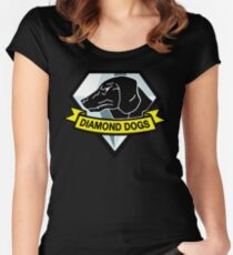 Diamond Dogs Women's Fitted Scoop T-Shirt