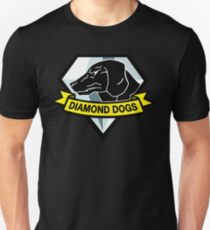 Diamant Hunde Slim Fit T-Shirt