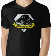 Diamond Dogs Men's V-Neck T-Shirt