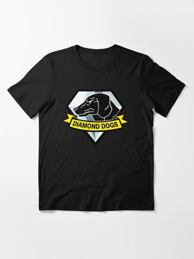 Alternate view of Diamond Dogs Essential T-Shirt