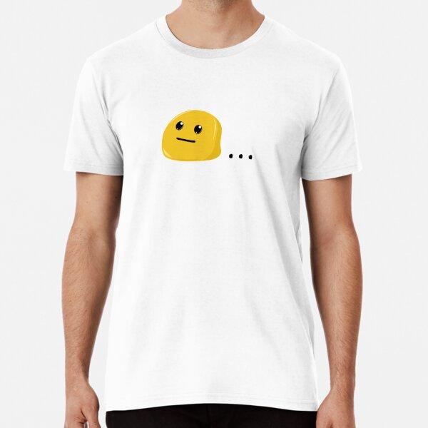 Neutral Face Emoji Drawing... Premium T-Shirt