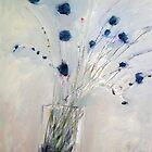 a winter arrangement by Brooke Wandall