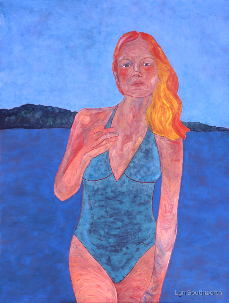 Woman With Water - III by Lyn Southworth