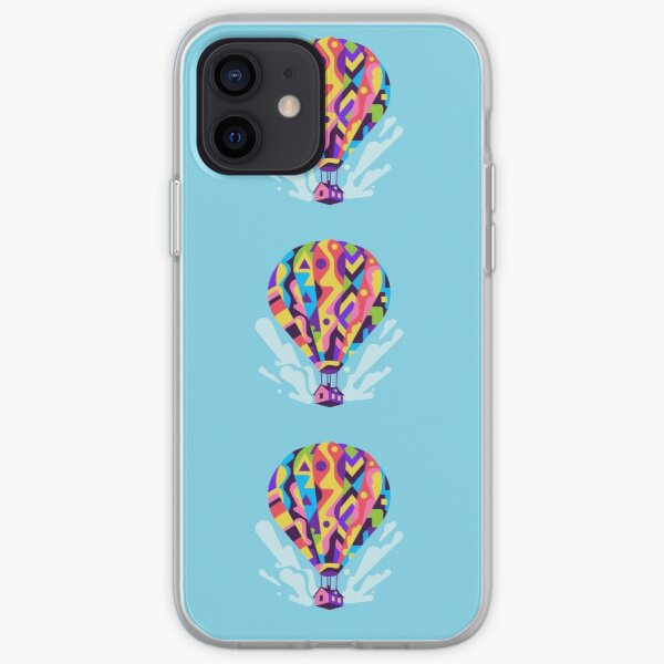 Sky House hot air balloon iPhone Soft Case