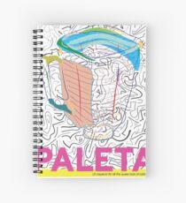PaletaZine Issue#1 Cover Spiral Notebook