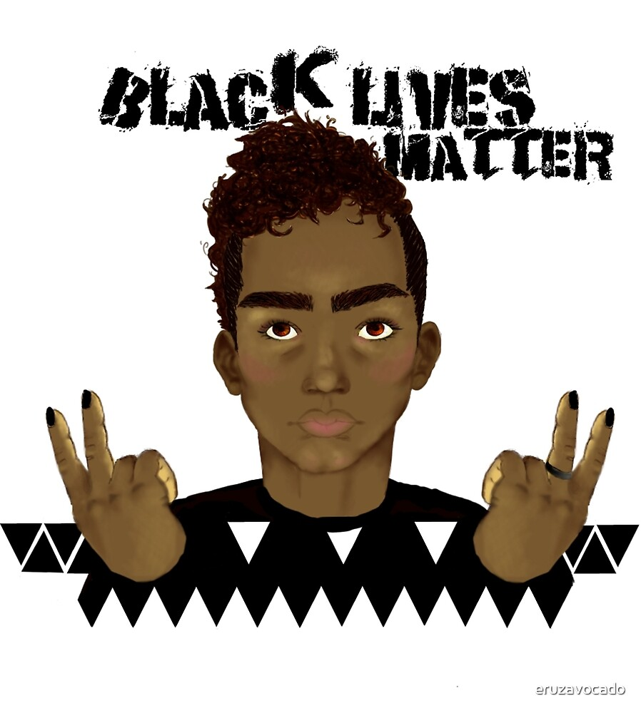 Black lives matter by eruzavocado