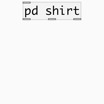 pure data shirt by glitchpop