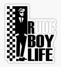 Rude Boy  Sticker