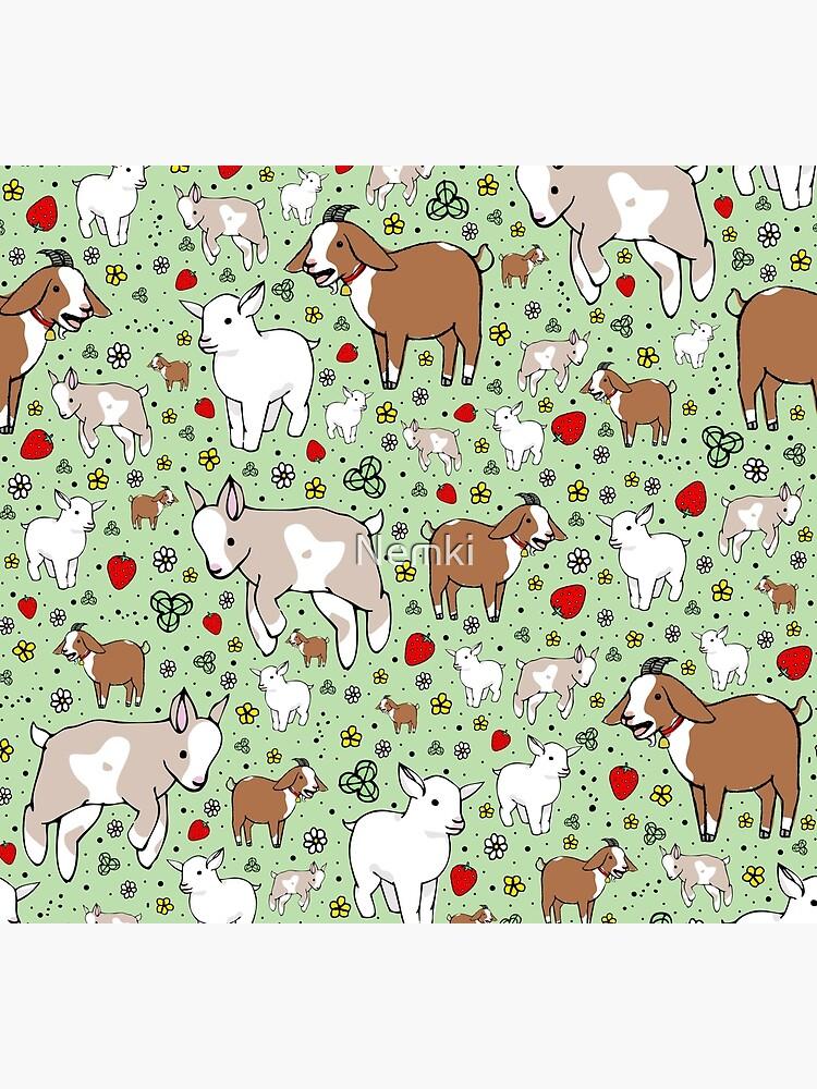 Goats by Nemki