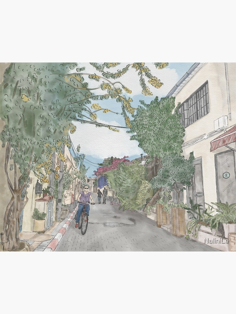 Neve Tzedek Tel Aviv old town by NaliniLe