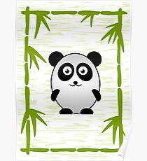 Little Cute Panda Poster