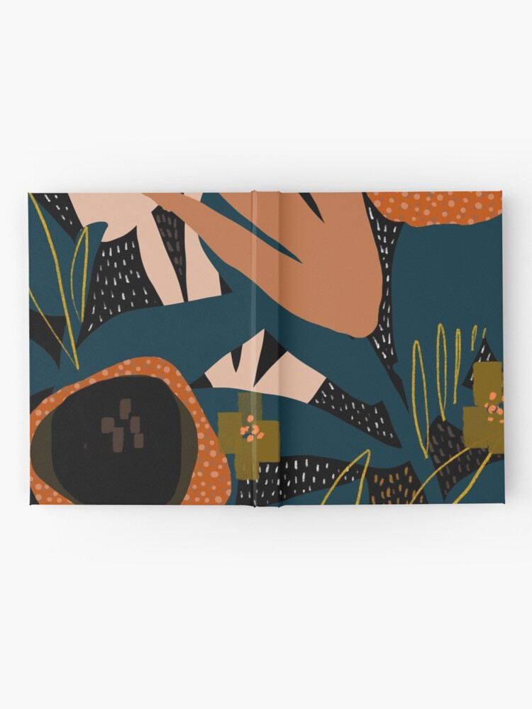 Alternate view of Evening meadow Hardcover Journal