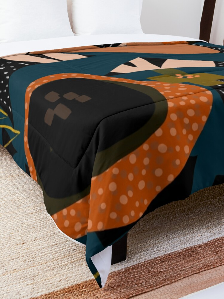 Alternate view of Evening meadow Comforter