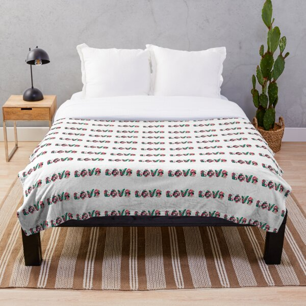 Colors of  Love Throw Blanket