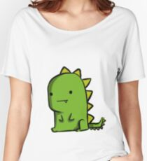 Lonely Dino Women's Relaxed Fit T-Shirt