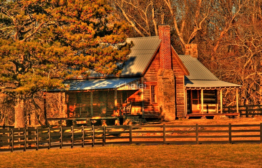 Old Dahlonega House by Chelei