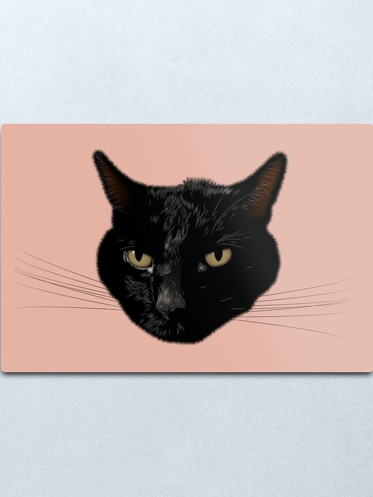 Alternate view of NDVH Kimmy the Cat Metal Print