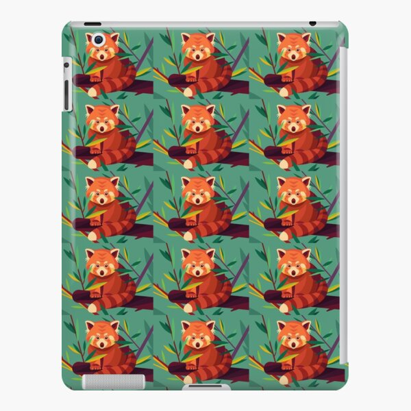 Raccoon in a tree iPad Snap Case
