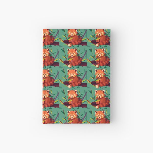 Raccoon in a tree Hardcover Journal