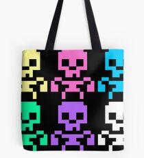 Rainbow skeletons Tote Bag