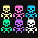 Rainbow skeletons by rumorsmatrix