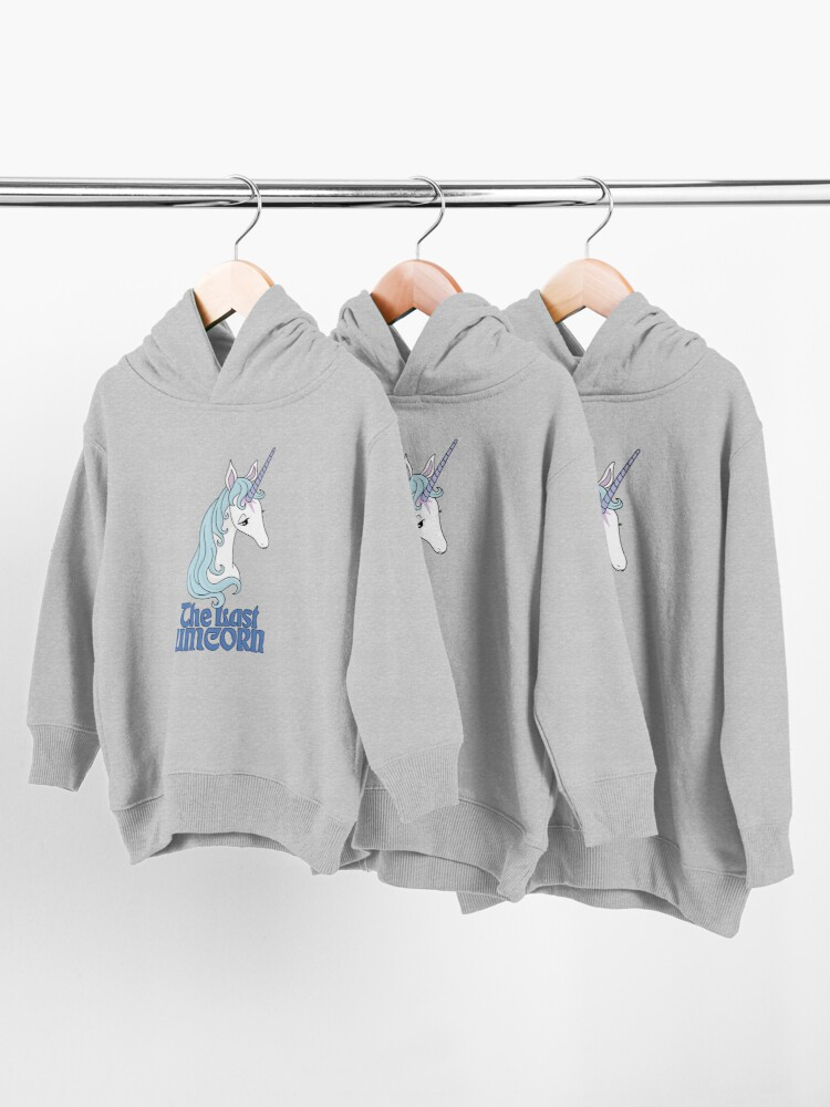 Alternate view of The Last Unicorn Toddler Pullover Hoodie