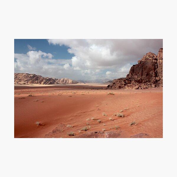 sand painting Photographic Print