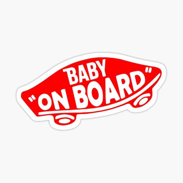 """Baby """"On Board"""" Sticker"""