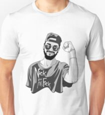 Nick, give me a F*ck Unisex T-Shirt