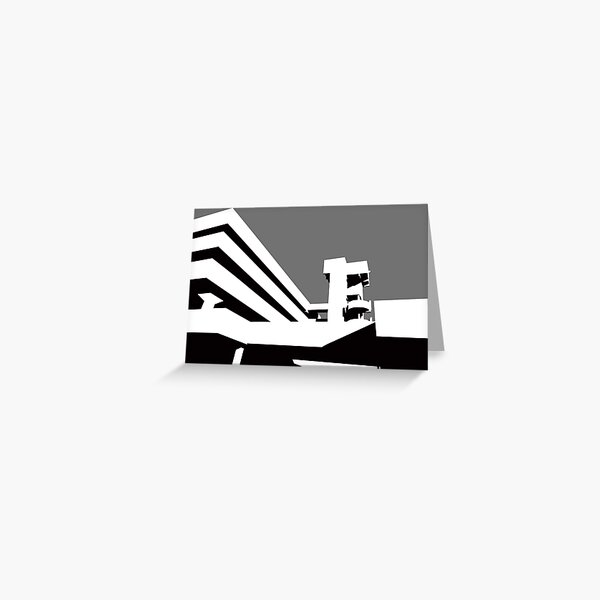 Tricorn Concept Art Greeting Card