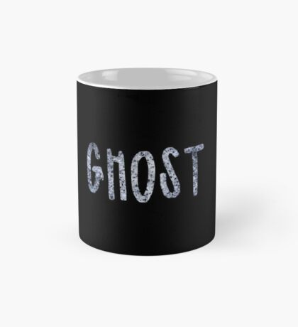 Ghost (Writing) Mug