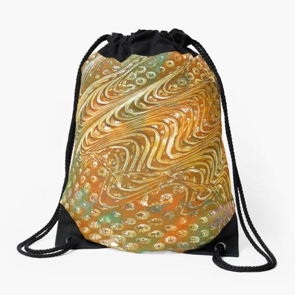 Random Thoughts Drawstring Bag