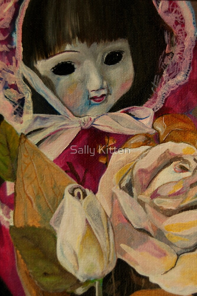 Sally's doll that she receievd after an operation in 1984... or maybe it was 1985? by Sally Kitten