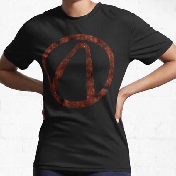 Borderlands - Vault Hunter Symbol (Galaxy Design) Active T-Shirt