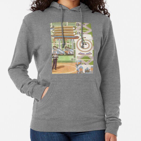 setting the lights to change until it is safely past Lightweight Hoodie