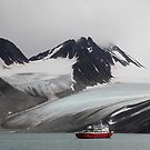 Magdalenefjord, Arctic Circle. by John Dalkin