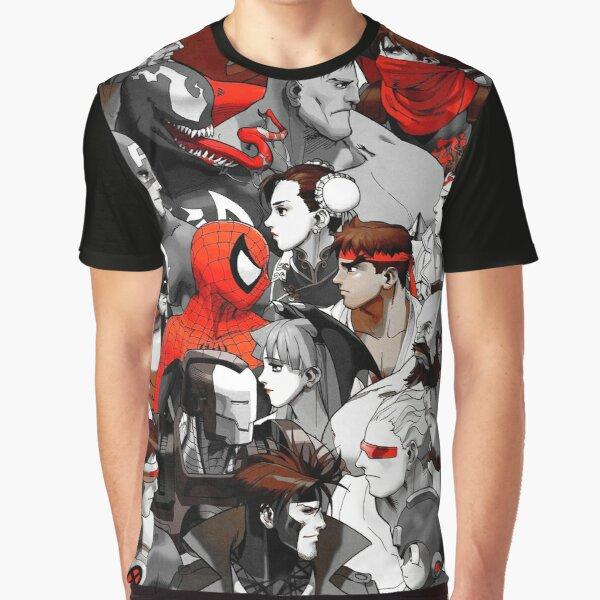 Marvel VS. Capcom (Red) Graphic T-Shirt