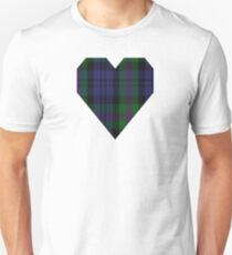 00382 Modern Baird Clan/Family Tartan  Unisex T-Shirt