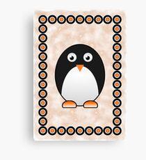 Little Cute Penguin Canvas Print