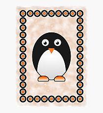 Little Cute Penguin Photographic Print